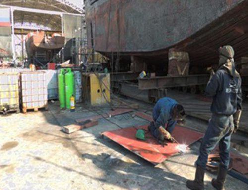 Risk assessment of shipyards liability