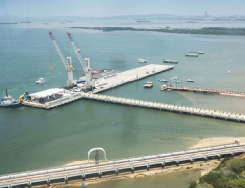 "The new multipurpose marine terminal ""Puerto Bahia"" is a pride for Colombia"